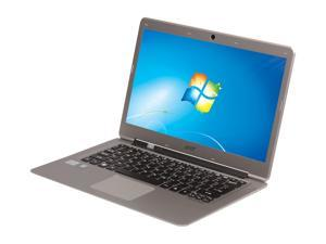 "Acer Aspire S3-391-6899 Intel Core i3 4GB Memory 500GB HDD 20GB SSD 13.3"" Ultrabook Windows 7 Home Premium 64-Bit"