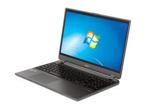 "Acer Aspire TimelineU M5-581T-6490 Intel Core i5 6 GB Memory 500 GB HDD 20 GB SSD 15.6"" Ultrabook Windows 7 Home Premium ..."