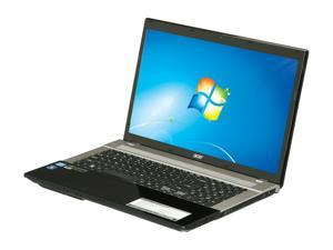 "Acer Aspire V3-771G-6601 Intel Core i5-2450M 2.5GHz 17.3"" Windows 7 Home Premium 64-Bit Notebook"