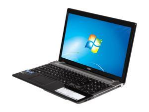 "Acer Aspire V3-571G-6641 Intel Core i3-2370M 2.4GHz 15.6"" Windows 7 Home Premium 64-Bit Notebook"