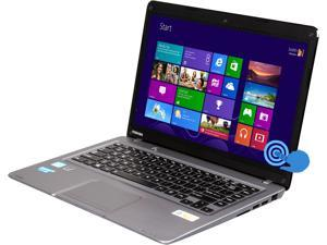 "TOSHIBA Satellite U845t-S4155 14"" Touchscreen Ultrabook Sky Silver Brushed Aluminum"