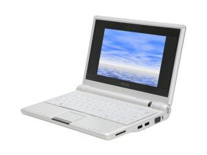 "ASUS Eee PC 8G - Pearl White 7"" WVGA NetBook"