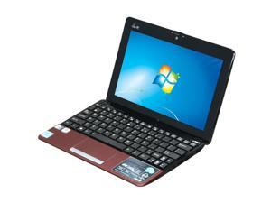 "ASUS Eee PC 1015PEM-MU17-RD Red 10.1"" WSVGA Netbook"