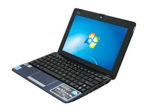 """ASUS Eee PC 1015PN-PU17-BU Blue 10.1"""" WSVGA Netbook"""