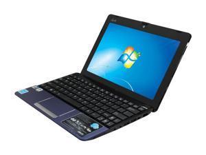 """ASUS Eee PC 1015PN-PU27-BU Blue 10.1"""" WSVGA Netbook"""
