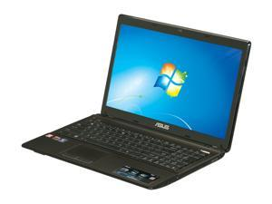 "ASUS X53 Series X53U-XR1 AMD Dual Core C-50 1.0GHz 15.6"" Windows 7 Home Premium 64-Bit Notebook"