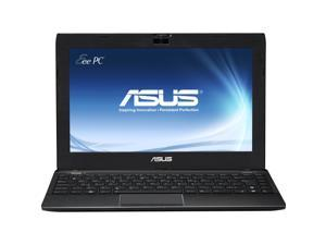 "ASUS 1225B-BU17-BK AMD Dual Core E-450 1.65GHz 11.6"" Windows 7 Professional 64-Bit Notebook"