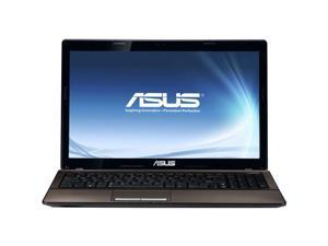 "ASUS K53 Series K53E-RBR5 Intel Core i3-2350M 2.3GHz 15.6"" Windows 7 Home Premium 64-Bit Notebook"
