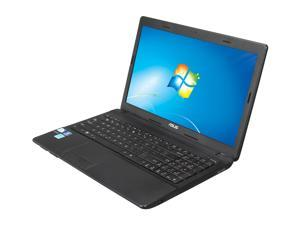 "ASUS Notebook - B Grade, Scratch and Dent X54C-BBK7 Intel Pentium dual-core 4 GB Memory 320 GB HDD Intel HD Graphics 3000 15.6"" Windows 7 Home Premium 64-Bit"