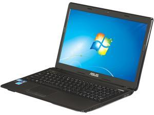 "ASUS K53E Intel Core i3-2350M 2.3GHz 15.6"" Windows 7 Home Premium 64-Bit Notebook"