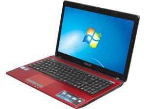 "ASUS X53E-SB31-RD(RB) 15.6"" Windows 7 Home Premium 64-Bit Notebook"