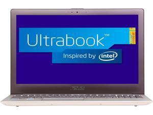 "ASUS Zenbook UX51VZ-XB71 15.6"" Ultrabook Aluminum with Dark Brown fine center spin hair-line"