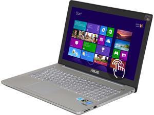 """Asus N550JK-DS71T 15.6"""" Full HD (1920x1080)Touchscreen Laptop with Intel Core i7-4700HQ (2.4GHz), 8GB DDR3, 1TB HDD, NVIDIA GeForce GTX 850M 2GB DDR3, DVDRW, Windows 8.1 64-Bit"""