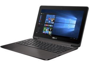 "ASUS VivoBook Flip TP201SA-DB01T Intel Celeron N3060 (1.60 GHz) 4 GB Memory 500 GB HDD 11.6"" Touchscreen 1366 x 768 Convertible 2-in-1 Laptop Windows 10 Home 64-Bit"