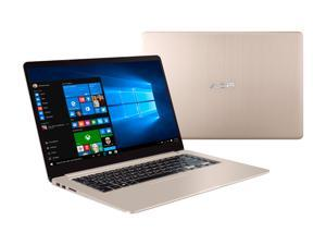 "ASUS VivoBook S510UA-DB71 15.6"" Full HD Laptop, 7th Gen Intel Core i7 Processor 2.7 GHz, 8 GB DDR4 RAM, 128 GB M.2 SSD + 1 TB HDD, Windows 10, Fingerprint Reader, Thin and Light, Backlit Keyboard"