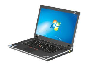 "ThinkPad Edge 0301J9U Intel Core i3-390M 2.66G 15.6"" Windows 7 Professional 64-bit Notebook"