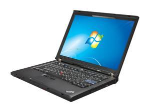 "ThinkPad T400 Intel Core 2 Duo P8400 2.26GHz 14.1"" Windows 7 Home Premium Notebook"