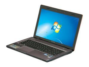 "Lenovo IdeaPad Y570 (08623TU) Intel Core i7-2670QM 2.2GHz 15.6"" Windows 7 Home Premium 64-Bit Notebook"