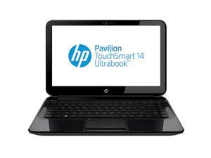 "HP Pavilion TouchSmart 14-b170us Intel Core i3 4GB DDR3 Memory 750GB HDD 14"" Touchscreen Ultrabook Windows 8"