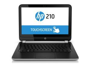 "HP 210 G1 11.6"" Touchscreen LED Notebook - Intel Core i3 i3-4010U 1.70 GHz - Silver"
