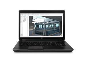 "HP ZBook 17 (J2M32UT#ABA) Notebook Intel Core i7 2.40GHz 8GB Memory 256GB SSD NVIDIA Quadro K1100M 17.3"" Windows 7 Professional ..."