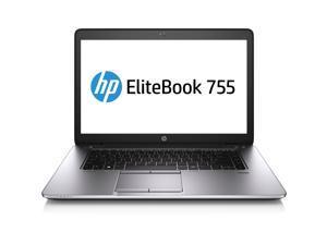 "HP Laptop EliteBook 755 G2 (J5N88UT#ABA) AMD A-Series A6 Pro-7050B (2.20GHz) 4GB Memory 500GB HDD AMD Radeon R4 Series 15.6"" ..."