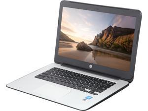 "HP 14 G4 (T4M31UT#ABA) Chromebook Intel Celeron N2840 (2.16 GHz) 2 GB Memory 16 GB eMMC SSD 14.0"" Chrome OS"