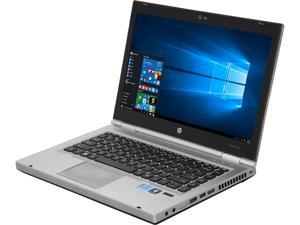 "HP Laptop EliteBook 8460P Intel Core i5 2520M (2.50 GHz) 4 GB Memory 250 GB HDD 14.0"" Windows 10 Pro 64-Bit"