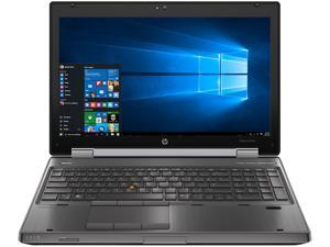 HP EliteBook 8570W Mobile Workstation Intel Core i7 3rd Gen 3720QM (2.60 GHz) 16 GB Memory 128 GB SSD Windows 10 Pro