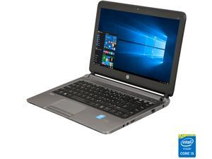 "HP Grade A Laptop 430 G1 Intel Core i5 4th Gen 4300U (1.90 GHz) 4 GB Memory 128 GB SSD 13.3"" Windows 10 Pro 64-Bit"
