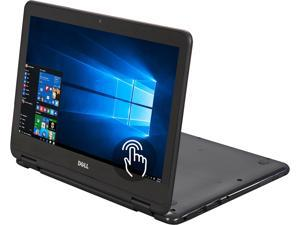 "DELL Inspiron i3168-3272GRY 2-in-1 Laptop Intel Pentium N3710 (1.60 GHz) 500 GB HDD Intel HD Graphics Shared memory 11.6"" Touchscreen Windows 10 Home 64-Bit"