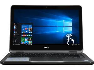 "DELL Inspiron 11 3000 i3169-0013GRY Intel Core M3 6Y30 (0.90 GHz) 4 GB Memory 500 GB HDD 11.6"" Touchscreen 1366 x 768 2-in-1 Laptop Windows 10 Home 64-Bit (Gray)"