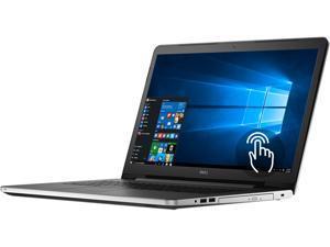 "DELL Laptop Inspiron i5755-4287SLV AMD A8-Series A8-7410 (2.20 GHz) 8 GB Memory 1 TB HDD AMD Radeon R5 Series 17.3"" 1920 x 1080 Touchscreen 720p Webcam Windows 10 Home 64-Bit"