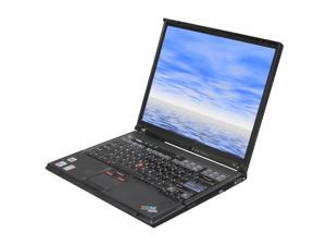 "ThinkPad T Series T43 Intel Pentium M 1.83GHz 14.1"" Windows XP Professional Notebook"