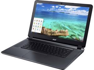 "Acer CB3-532-C47C Chromebook Intel Celeron N3060 (1.60 GHz) 2 GB Memory 16 GB Flash SSD 15.6""  Chrome OS"