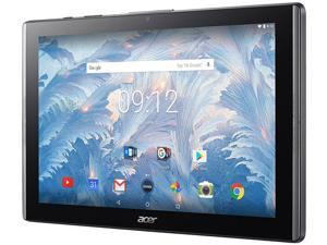"Acer ICONIA B3-A40-K5S2 Cortex A35 1.30 GHz 2 GB Memory 32 GB Flash Storage 10.1"" 1280 x 800 Tablet Android 7.0 Nougat Black"