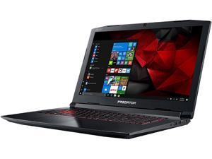 "Acer PH317-51-74Y2 17.3"" Intel Core i7 7th Gen 7700HQ (2.80 GHz) NVIDIA GeForce GTX 1060 16 GB DDR4 Memory 256 GB SSD 1 TB HDD Windows 10 Home 64-Bit Gaming Laptop"