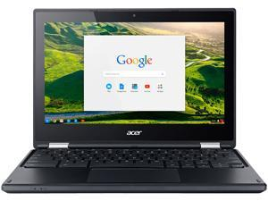 "Acer Chromebook Intel Celeron N3060 (1.60 GHz) 4 GB Memory 32 GB SSD 11.6"" Touchscreen Chrome OS (Manufacturer Recertified)"