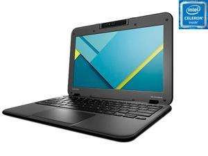 "Lenovo 80SF0001US Chromebook Intel Celeron N3050 (1.60 GHz) 4 GB Memory 16 GB eMMC SSD 11.6"" Chrome OS"