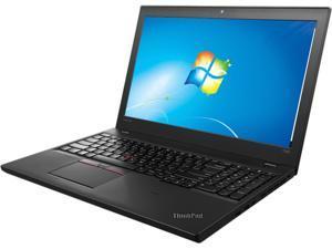 """ThinkPad Laptop T Series T560 (20FH001TUS) Intel Core i7 6600U (2.60 GHz) 8 GB Memory 256 GB SSD Intel HD Graphics 520 15.6"""" Windows 7 Professional 64-Bit / Windows 10 Pro Downgrade"""