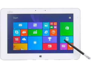 "Fujitsu 10.1"" Q584-W81-001 Intel Atom Z3770 (1.467GHz) up to 2.39GHz 4 GB fixed onboard (maximum 4 GB, not upgradable) Memory Windows 8.1 32-bit Tablet PC"