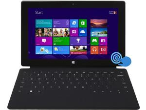 """Microsoft Surface RT Tablet with Keyboard Cover - 2GB Memory 64GB 10.6"""" Touchscreen Windows 8 RT (9JR-00002)"""