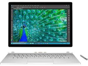 "Microsoft Surface Book SV7-00001 Ultrabook Intel Core i5 6300U (2.40 GHz) 8 GB Memory 128 GB SSD Intel HD Graphics 520 13.5"" 3000 x 2000 Touchscreen 5 MP Front / 8 MP Rear Camera Windows 10 Pro 64-Bit"