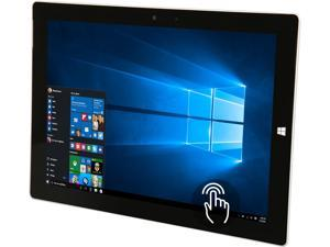 "Microsoft Surface 3 GN3-00001-A-DK Intel Atom x7-Z8700 (1.60 GHz) 2 GB Memory 64 GB Storage 10.8"" Touchscreen 1920 x 1280 Tablet Windows 10 Home  (Grade A, Like New)"