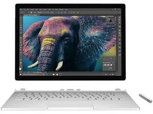 "Microsoft Surface Book 95F-00008 Intel Core i7 8 GB Memory 256 GB SSD 13.5"" Touchscreen 3000 x 2000 Convertible 2-in-1 Laptop Windows 10 Pro 64-Bit"