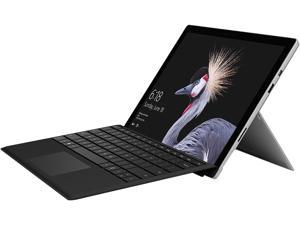"Microsoft Surface Pro Bundle HGH-00001 - Intel Core i5 7th Gen 4 GB Memory 128 GB SSD 12.3"" Touchscreen 2736 x 1824 2-in-1 Tablet Windows 10 Pro 64-Bit with Black Type Cover"