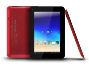 Wintec Filemate Clear Tablet 7 inch 16GB Android 4.0 - Red