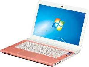 """SONY VAIO SVE14112FXP 14.0"""" Windows 7 Home Premium 64-Bit Laptop"""