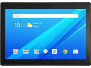"Lenovo Tab 4 Plus ZA2T0000US Qualcomm MSM8953 Snapdragon 625 (2.0 GHz) 2 GB Memory 16 GB Flash Storage 10.1"" 1920 x 1200 Tablet PC Android 7.1 (Nougat) Slate Black with LTE"