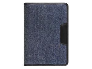Aluratek Denim Universal Folio Travel Case for 7 inch Tablets Model AUTC07FD